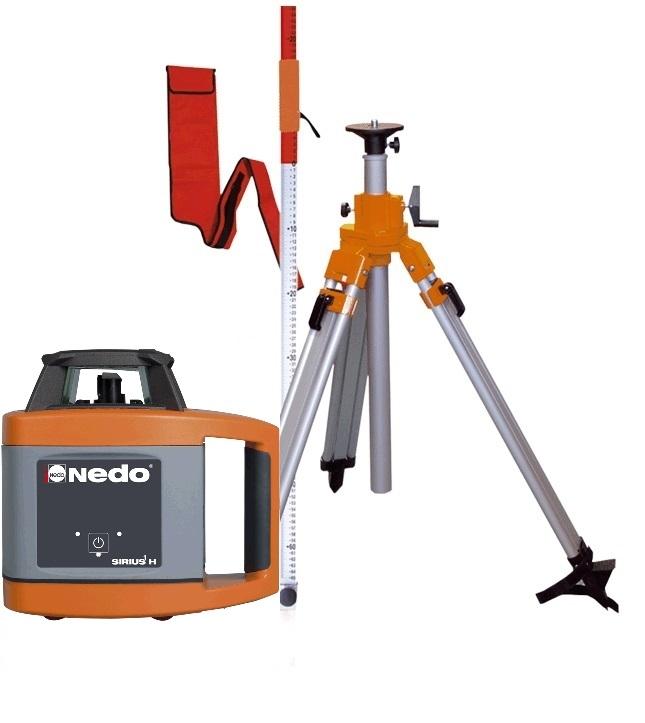 Sestava rotační laser SIRIUS H - NEDO