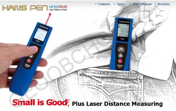 Přesný laserový dálkoměr HANS HP30