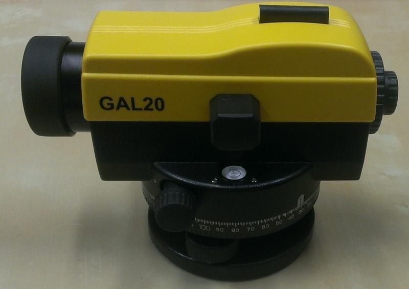 Nivelační přístroj GAL20 + kalibrační list